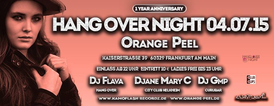 1 Year Anniversary Hangover Night