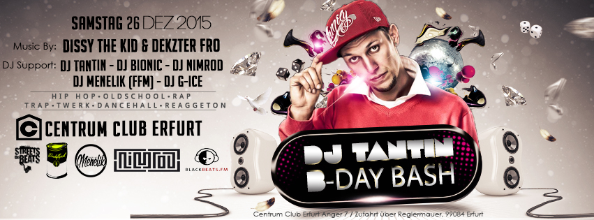 DJ TANTIN�s - Birthday Bash