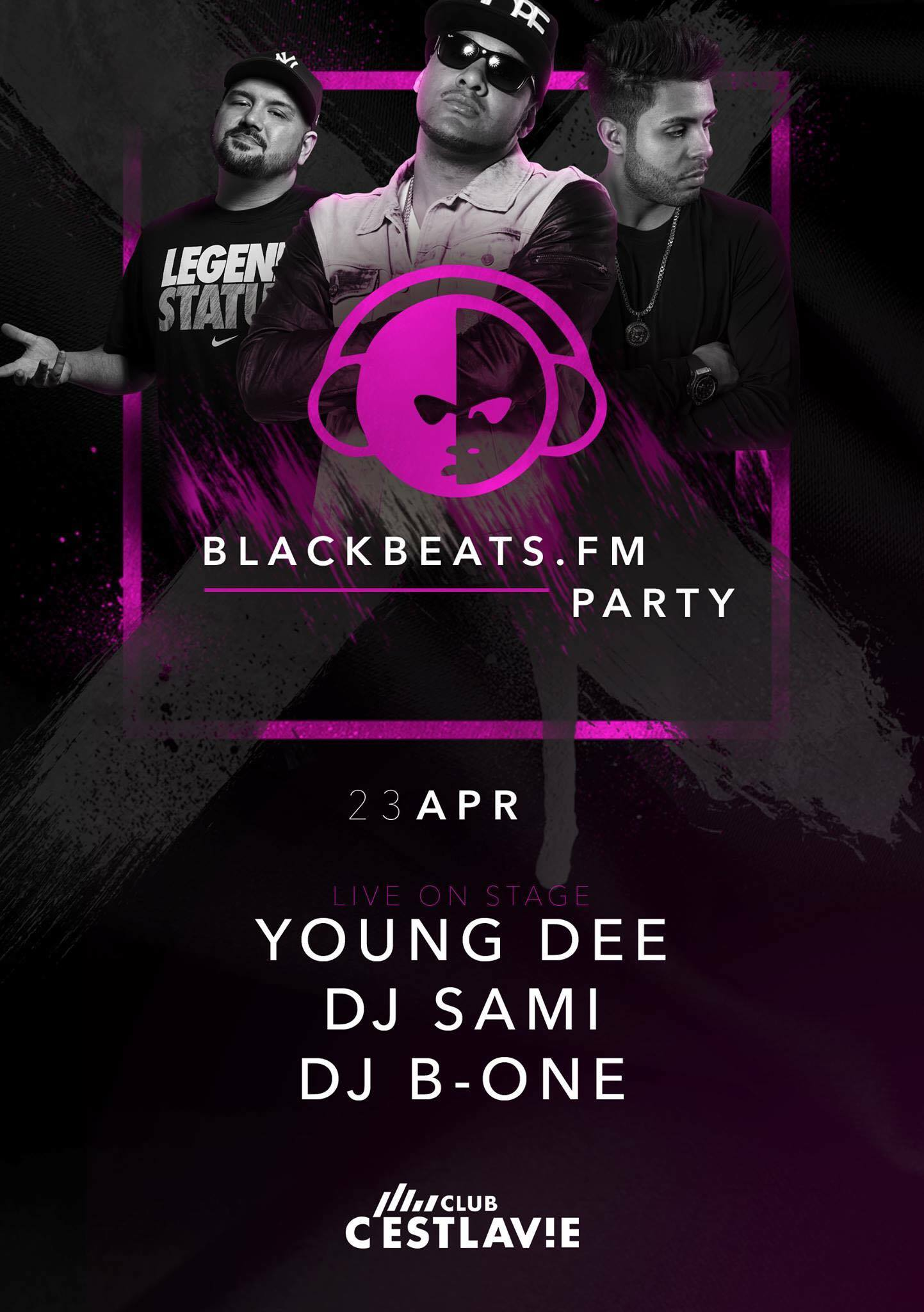 YOUNG DEE LIVE // C'est La Vie Club Wertheim // BLACKBEATS.FM