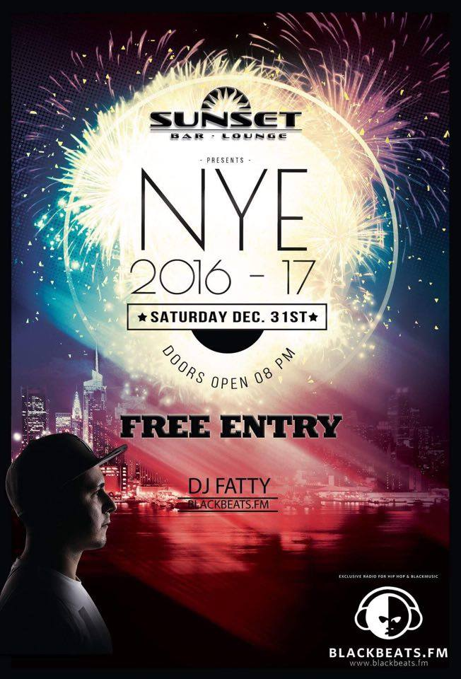 NYE 2016-17 @Sunset Bar-Lounge Bad Kreuznach