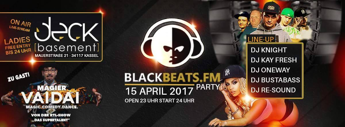 Blackbeats.fm Party - Deck Basement